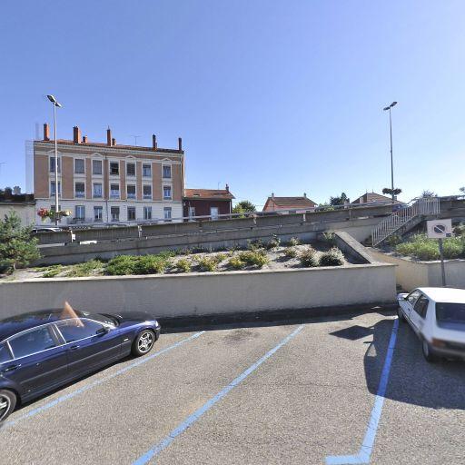 Parking Place des 3 renards - Parking - Tassin-la-Demi-Lune