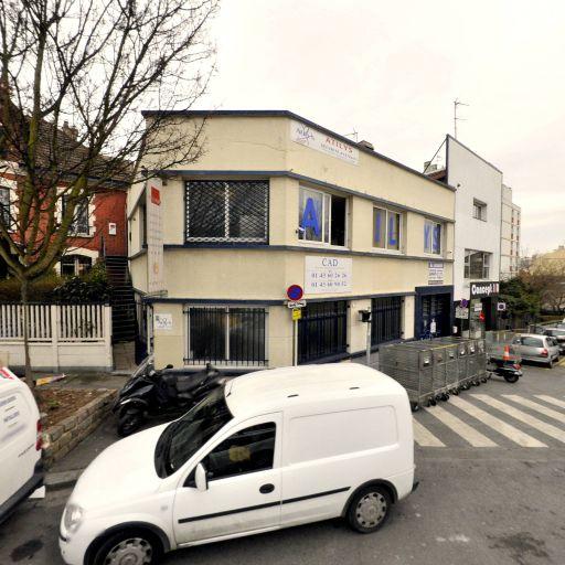 FRANCE Pare Brise - Garage automobile - Bagnolet