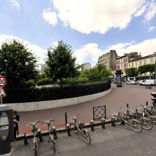 Station Vélib' Pasteur - Gambetta - Vélos en libre-service - Saint-Mandé