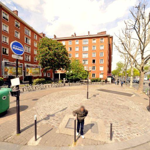 Station Vélib' Porte de Saint-Ouen - Bessières - Vélos en libre-service - Paris
