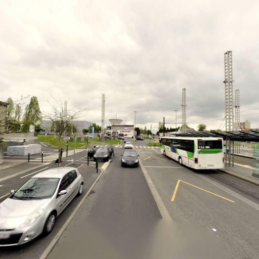 Aire de covoiturage gare tramway - Aire de covoiturage - Orvault