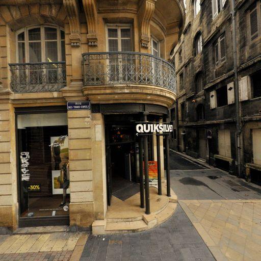 Quiksilver - Vêtements sportswear - Bordeaux
