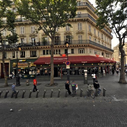 Station Vélib' Gare du Nord - Denain - Vélos en libre-service - Paris