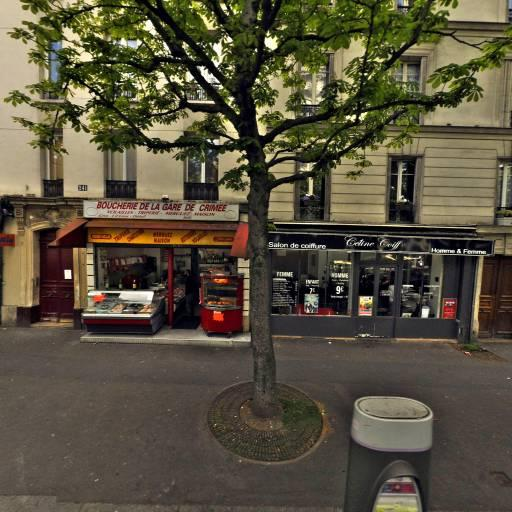 Station Vélib' Crimée - Ourcq - Vélos en libre-service - Paris