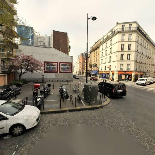 Station Vélib' Lecourbe - Jean Maridor - Vélos en libre-service - Paris