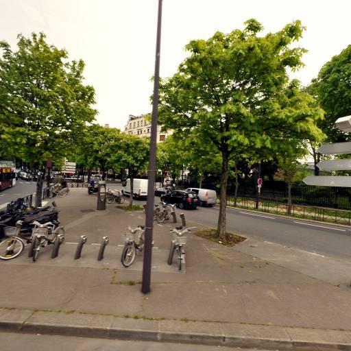 Station Vélib' Porte de la Muette - Vélos en libre-service - Paris