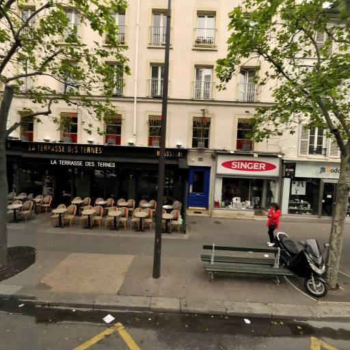 SINGER FRANCE SINGER PARIS 17 - Ternes - Machines à coudre et à tricoter - Paris