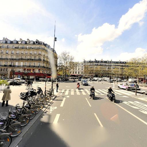 Station Vélib' Place de la République - Voltaire - Vélos en libre-service - Paris