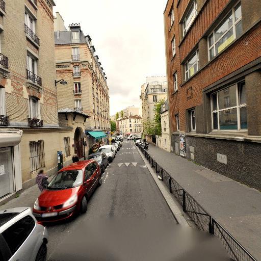 Square Rues Belleville - Telegraphe - Parc, jardin à visiter - Paris